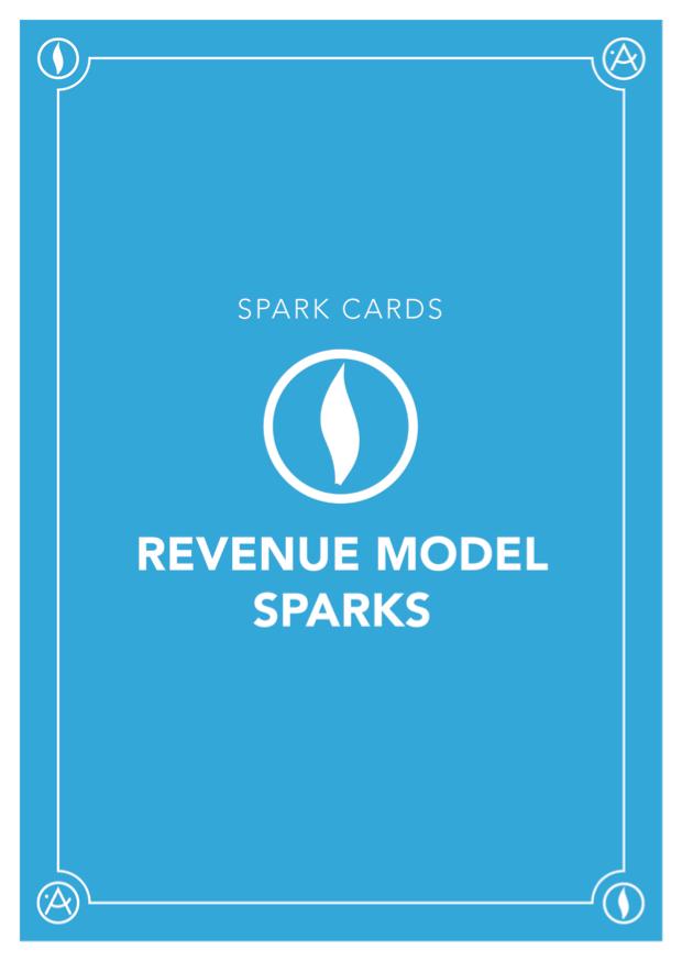 Card Deck: Revenue Model Sparks