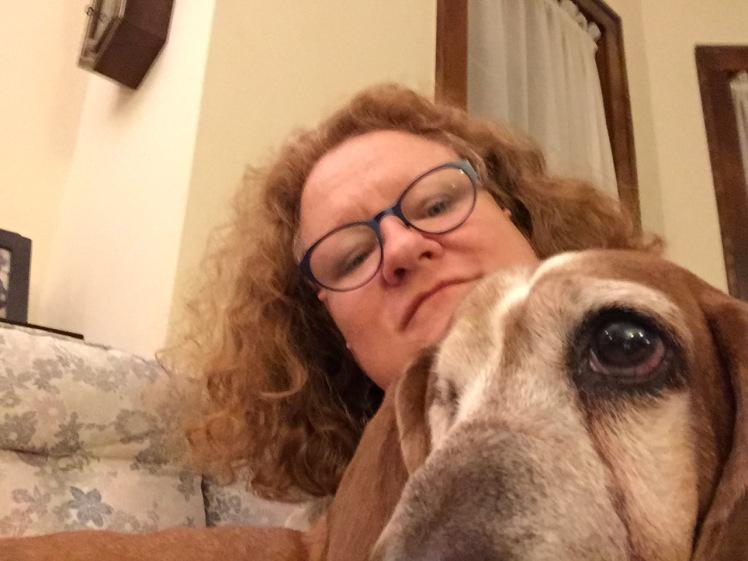 Me and Mavis, chillin'.