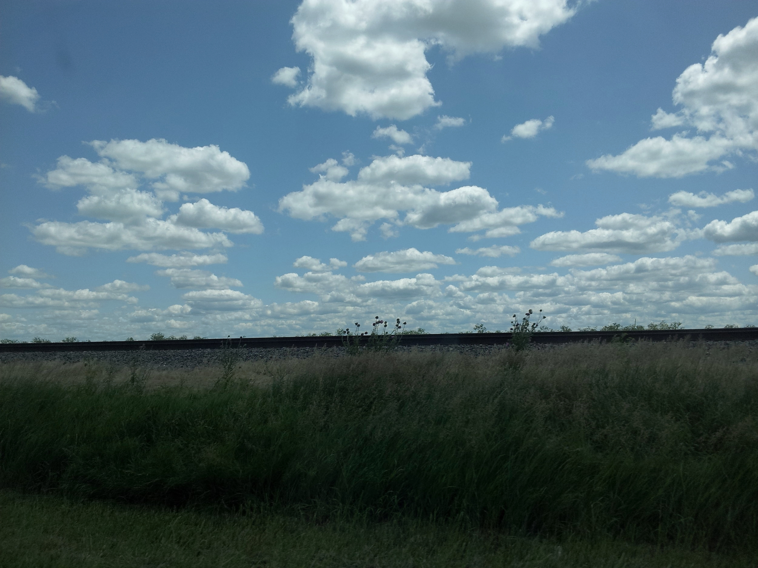 Western Illinois skyscape.