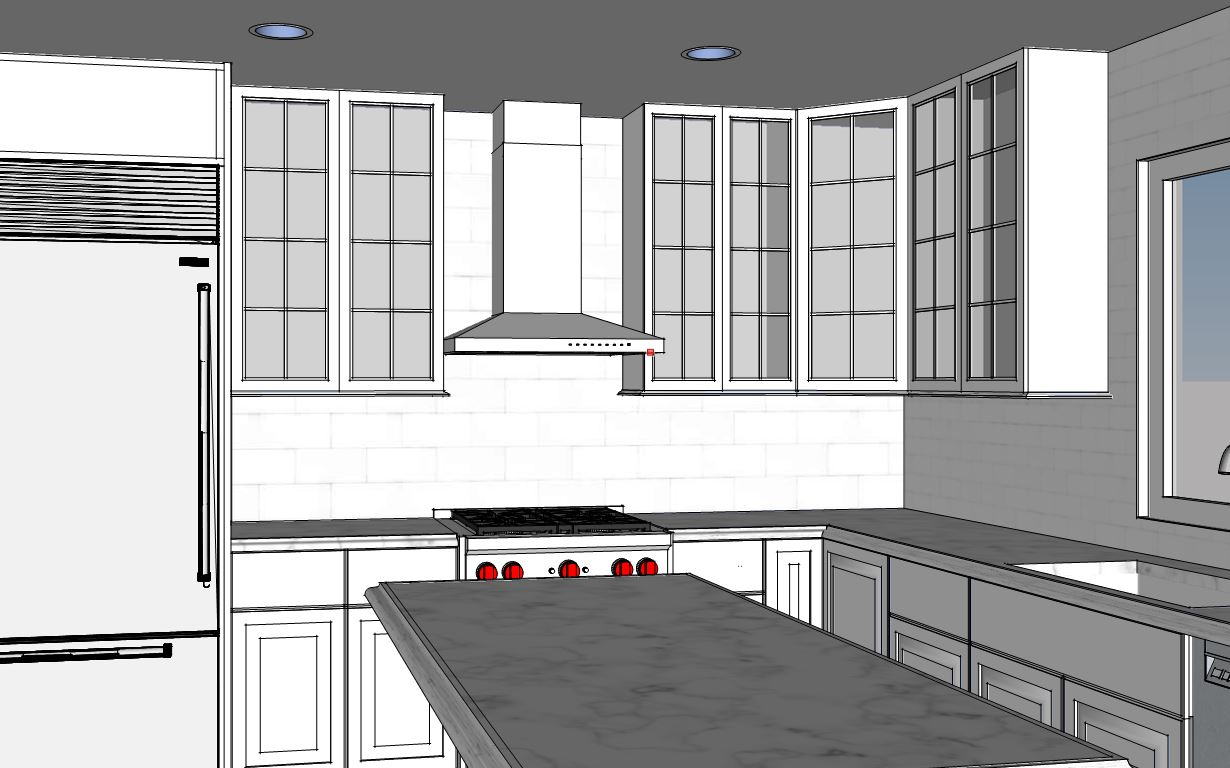 3D Kitchen Concept by Valle Homes