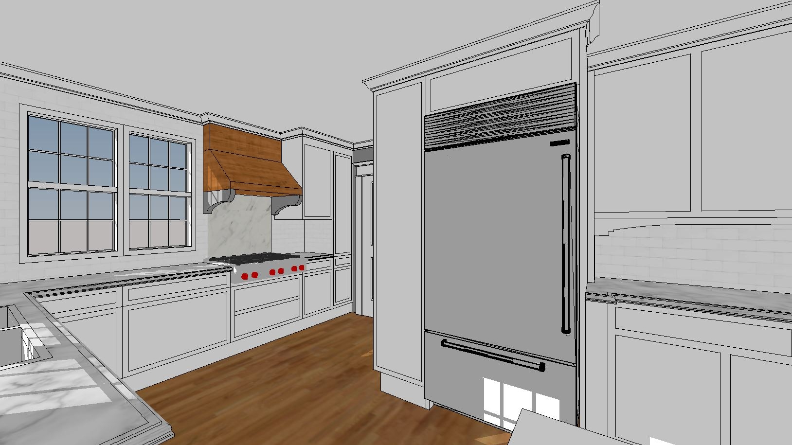 3D Kitchen Concept
