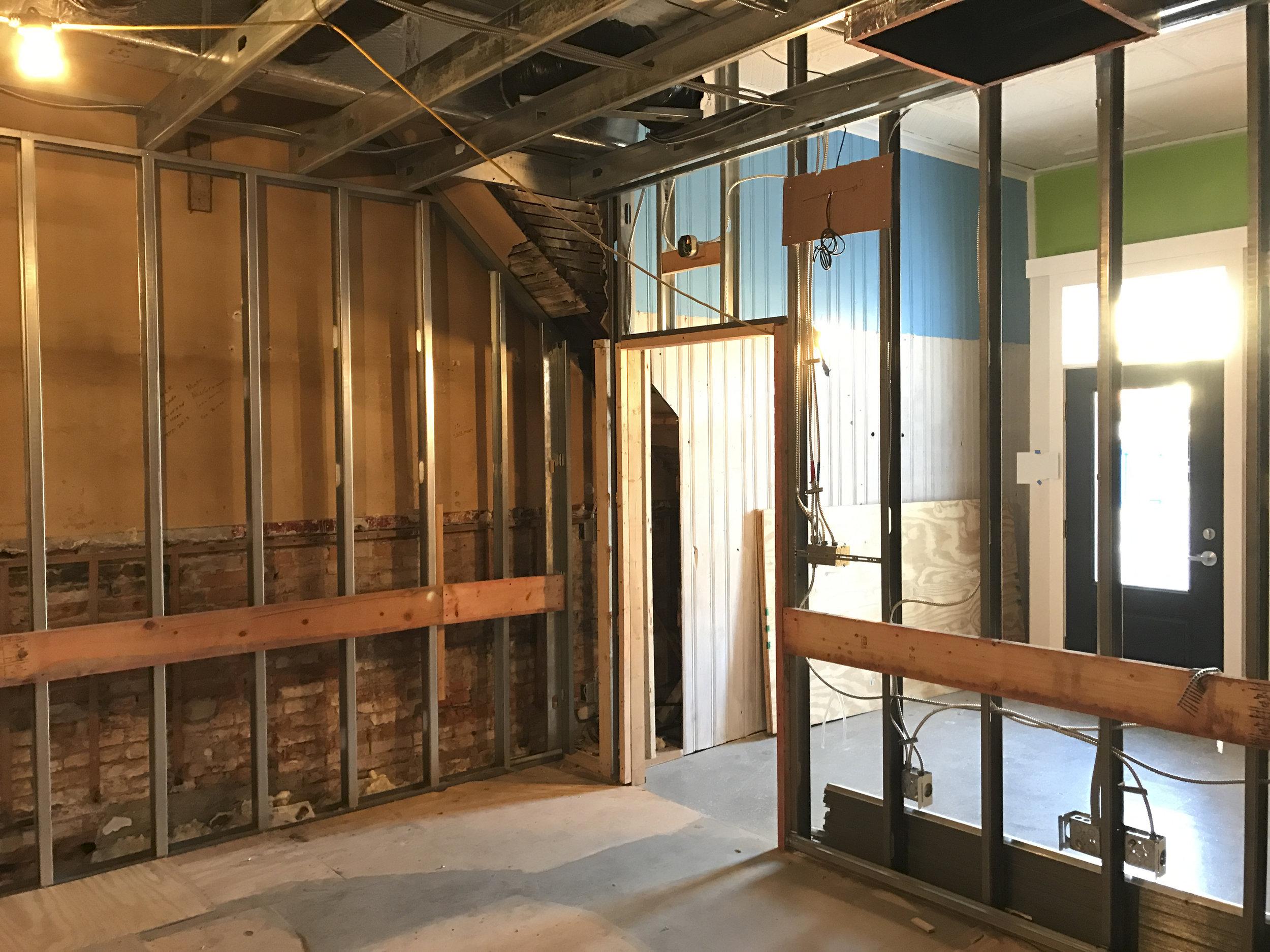Interior Steel Framing