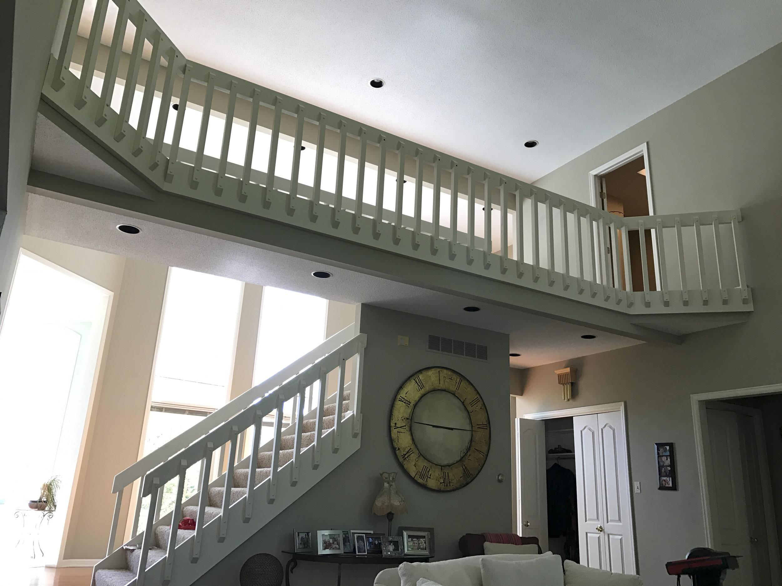 Existing 2nd floor balcony.