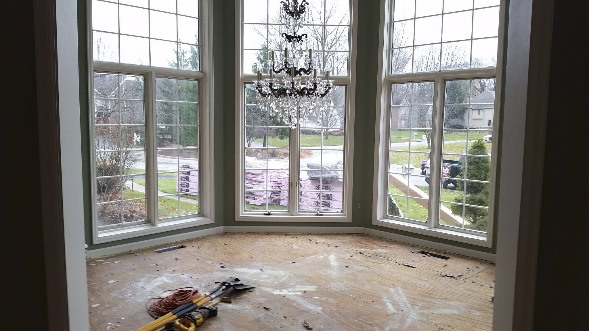 The renovated dining room will receive new windows and flooring as well as an updated bar.