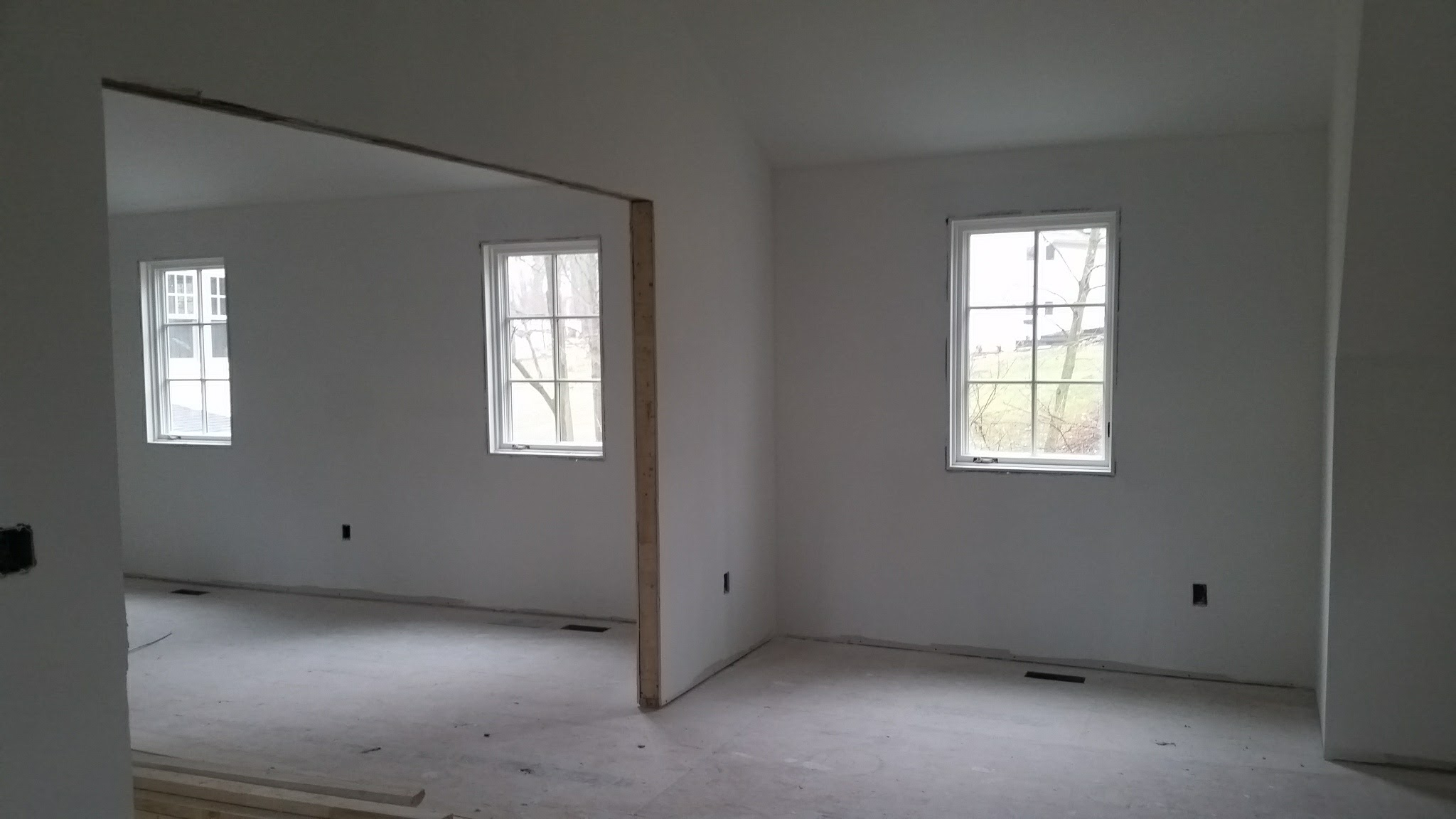 Kid's Wing & Guest Room | Drywall nearly complete
