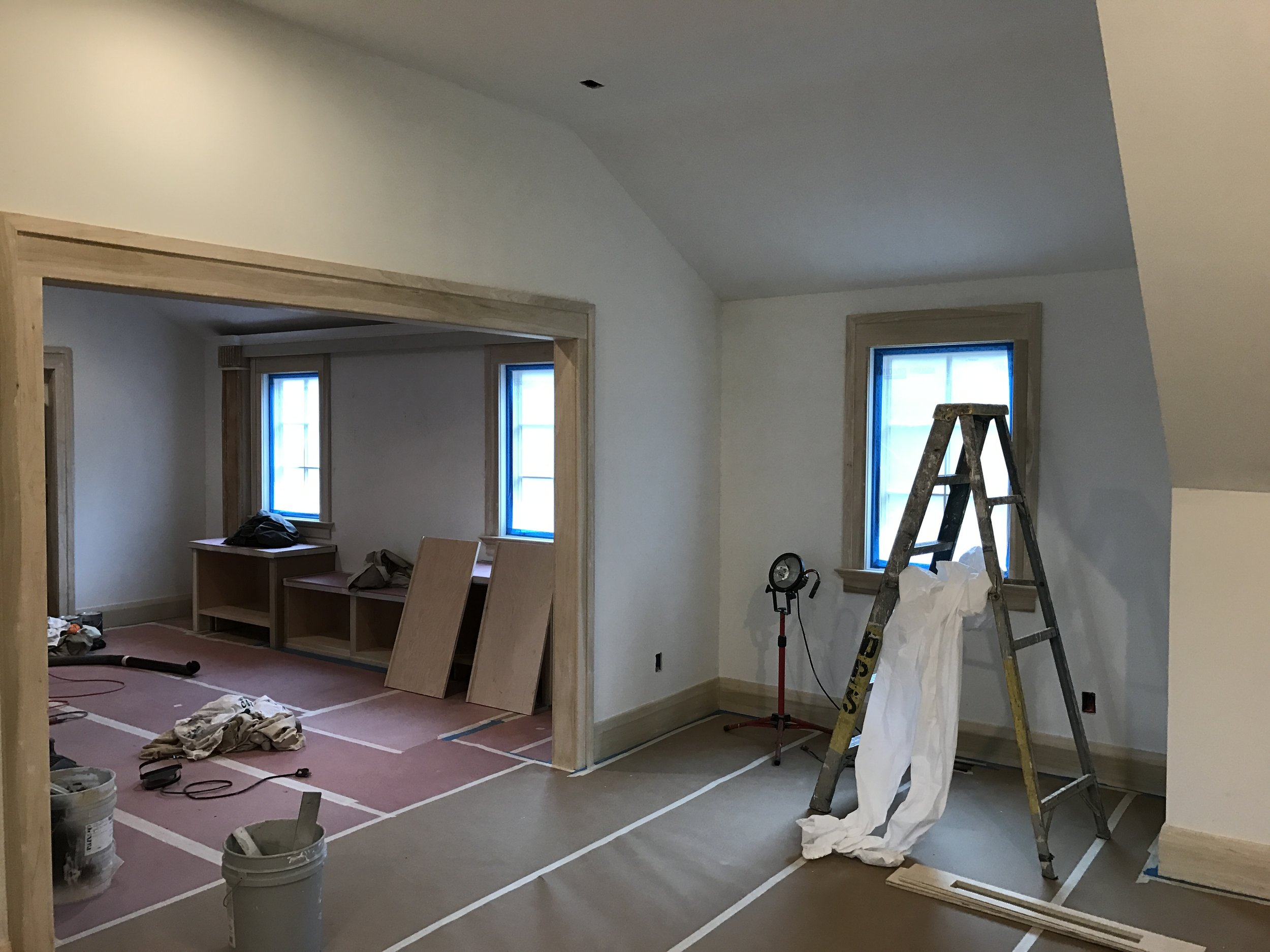 Kid's Wing & Guest Room | Trim Complete
