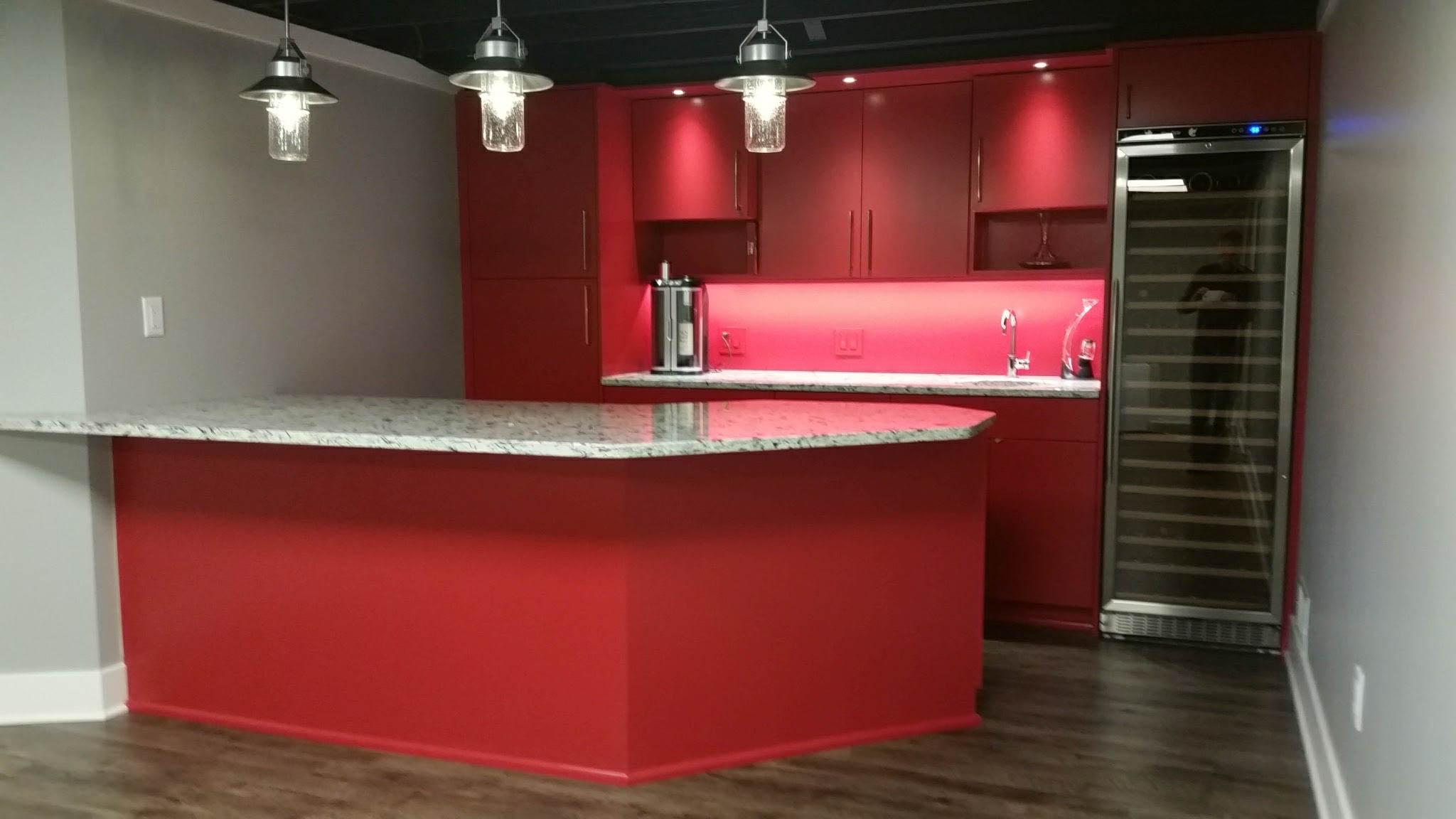 Kitchenette /  Bar Area - After