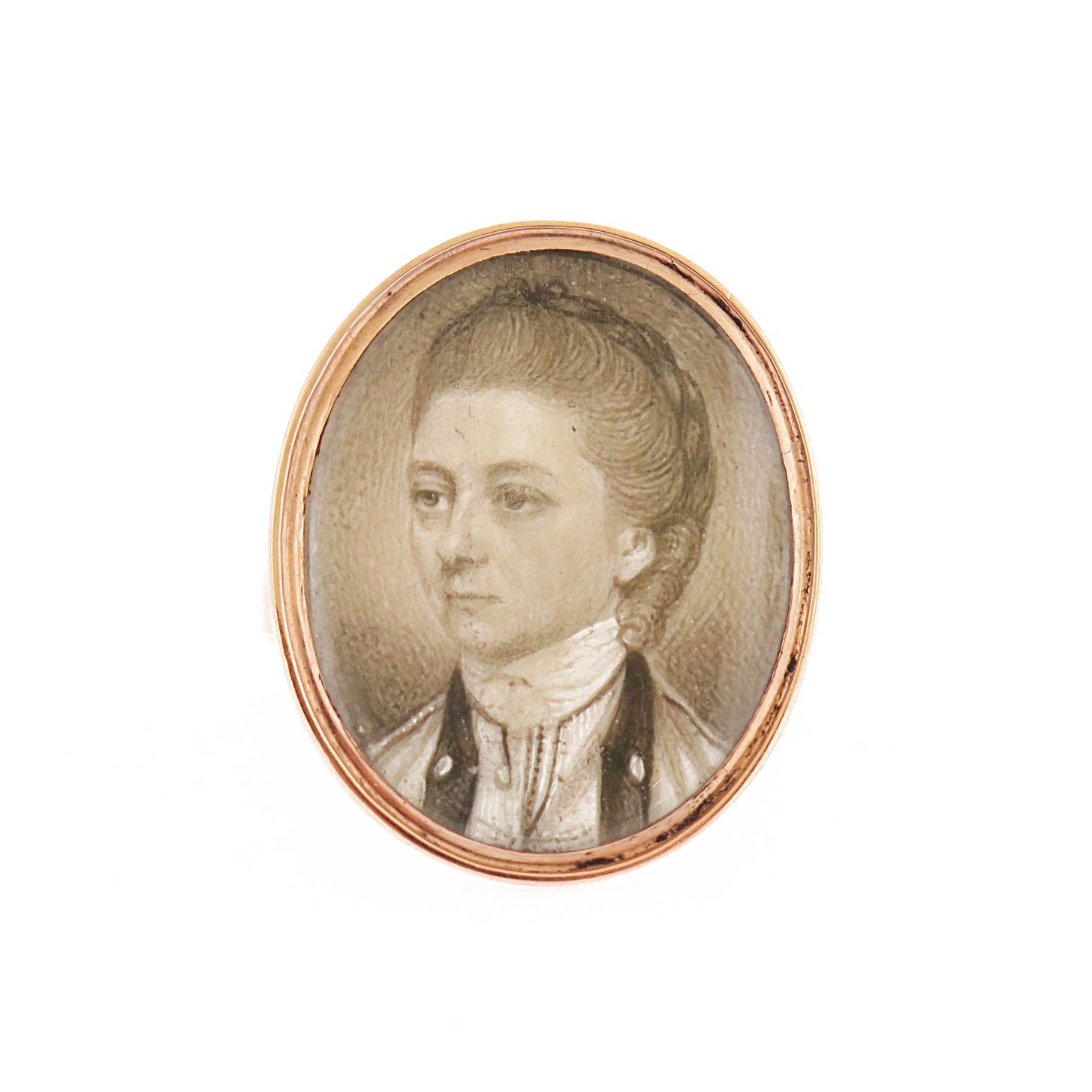 19th Century Portrait of Lady Ring