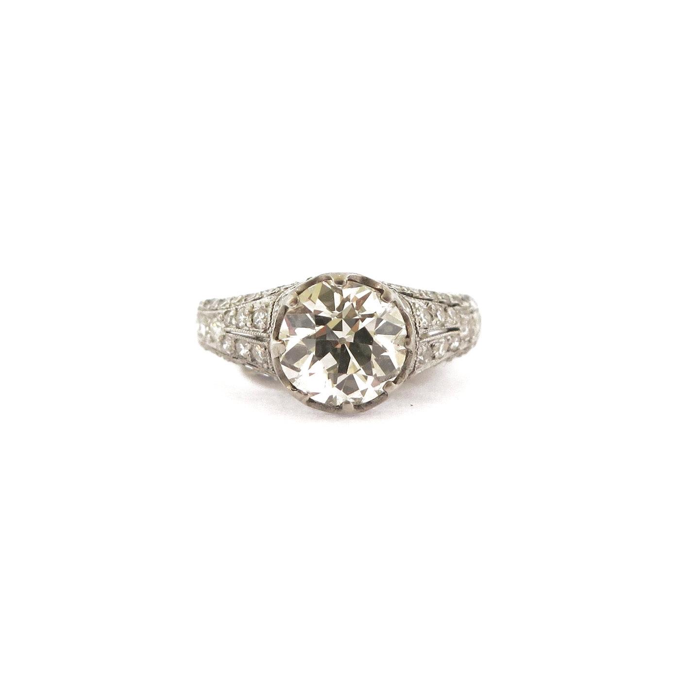 1.54 ct Diamond Solitaire Ring