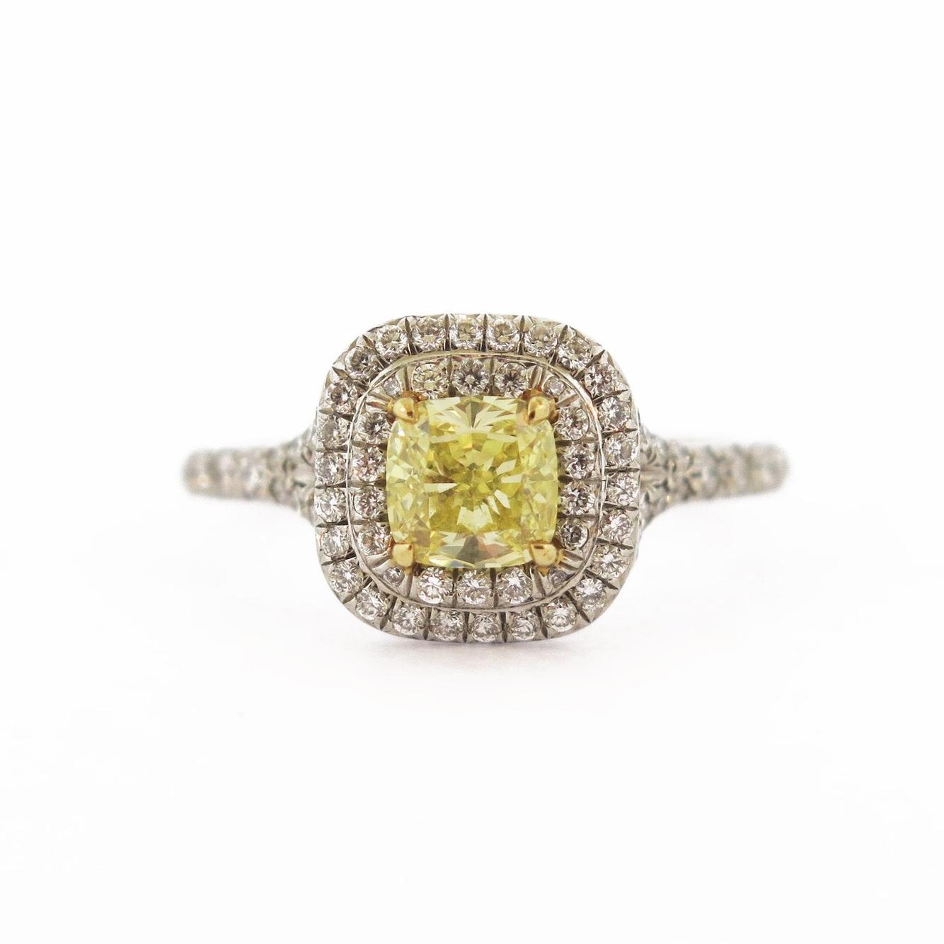 Tiffany & Co. Yellow Diamond Ring