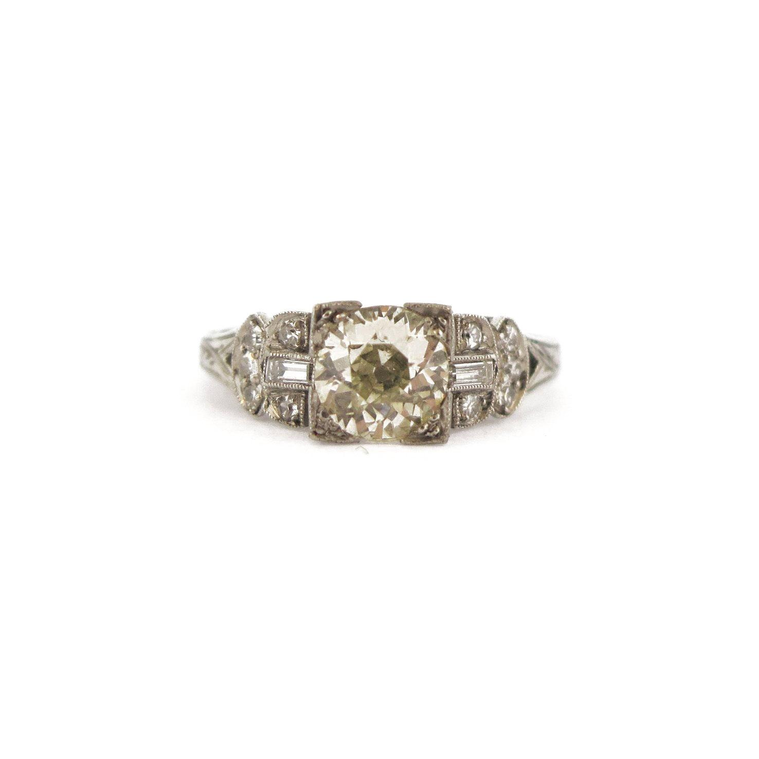 Edwardian 0.73 ct Diamond Ring