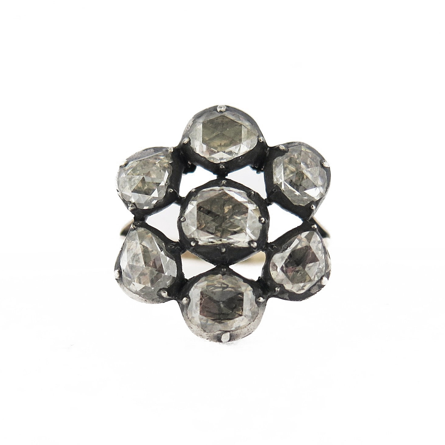 Late 19th Century Cluster Ring