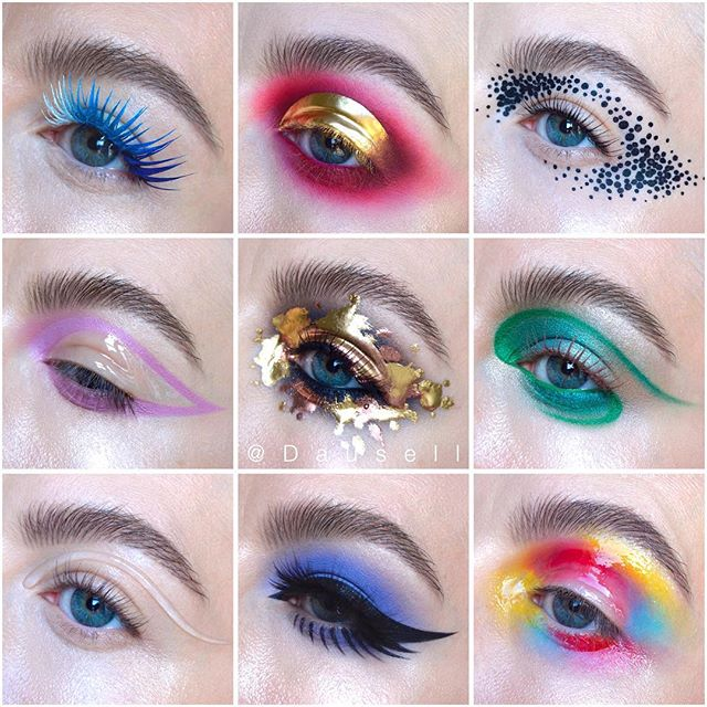 Which one is your favorite? 😊❤️ #dausell #makeup #eotd