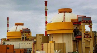 The Kudankulam Nuclear Power Plant in Tamil Nadu, India Credit – India Express