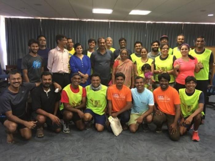 The Mera Terah Run team.                                    Source: Facebook