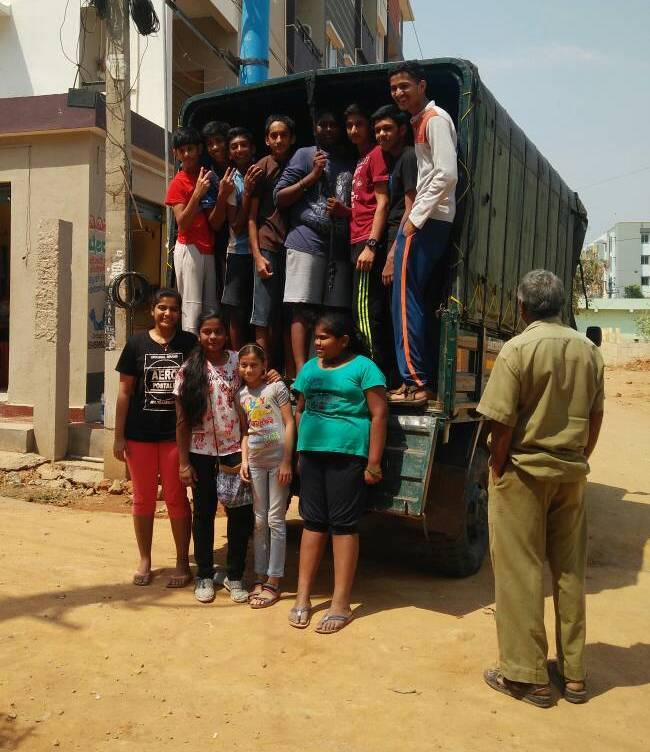 The team from Keerthi Harmony Kids Club