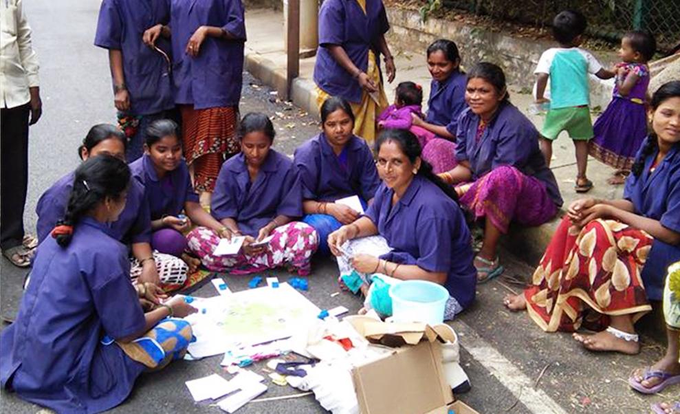 Bengaluru's  pourakarmikas  (municipal sanitary workers) play a game of Rubbish!