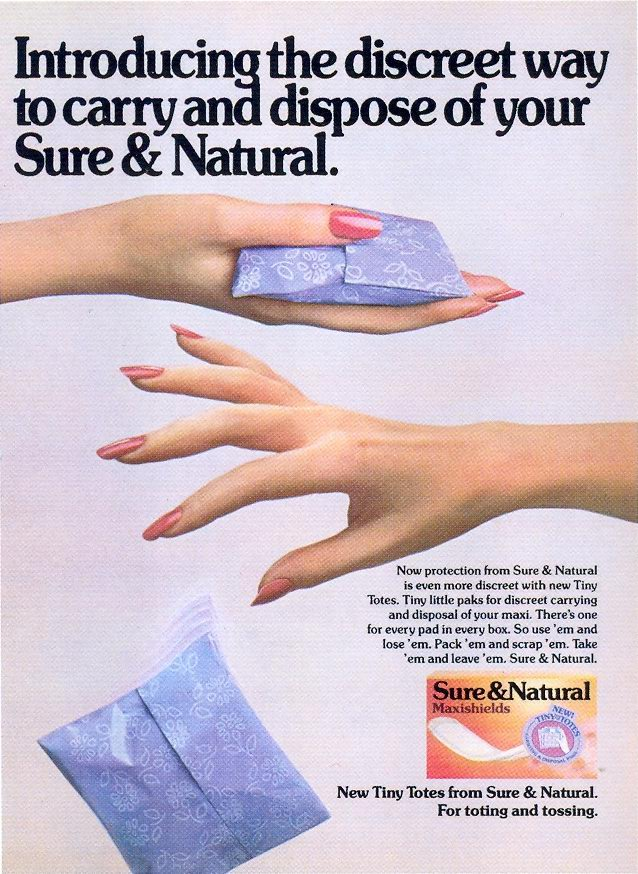 Their ease of disposal was a factor that made disposable pads attractive.