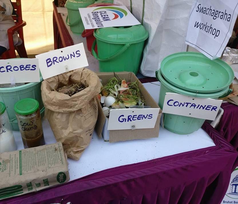 Composting essentials Image: Vani Murthy/ Facebook