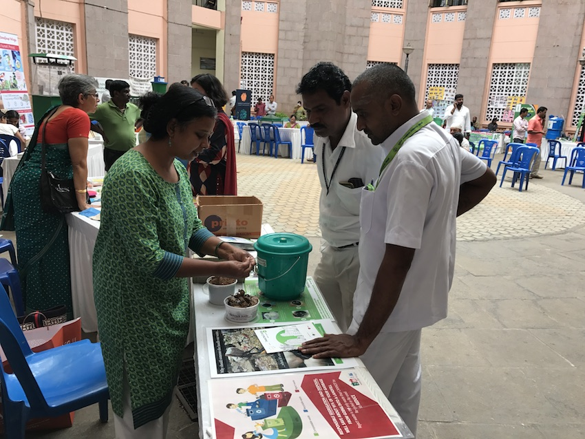 Composting Santhe at BBMP Head Office