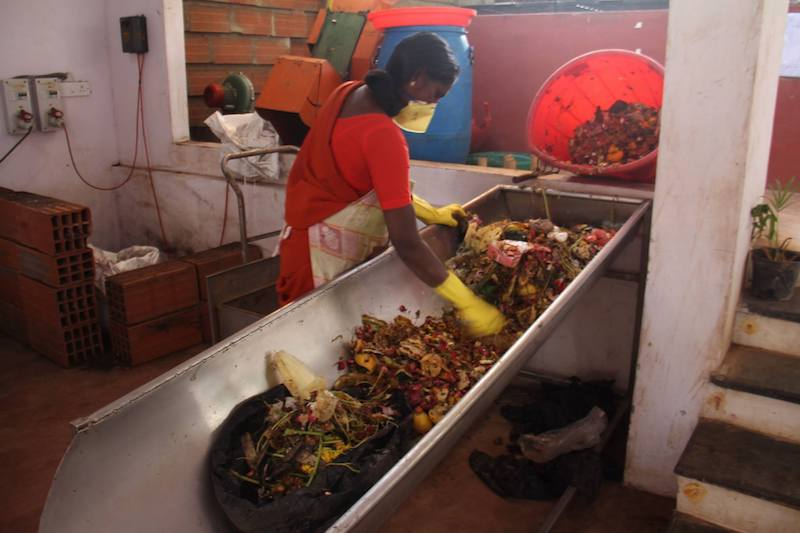 Wet waste management at Saahas Source: facebook.com/saahas