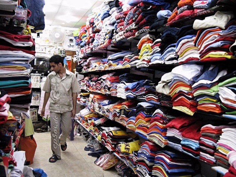 Less than 1 percent of the material used to produce clothing is recycled into new clothing. Image: Flickr CC/ Epsos.de