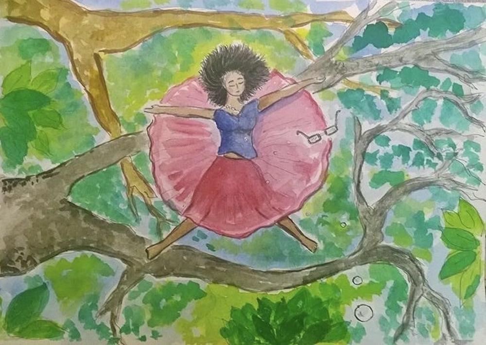 Illustration by Vidya Gopal