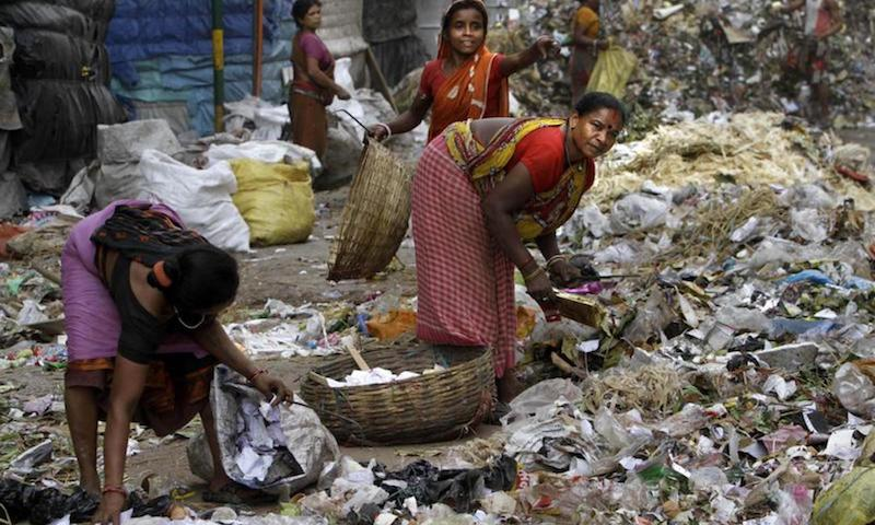 Institutionalised poverty and caste-related exploitation are fundamental to understanding India's garbage problem  Source