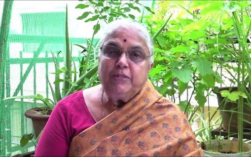Dr Vanaja Ramprasad Source: YouTube screengrab
