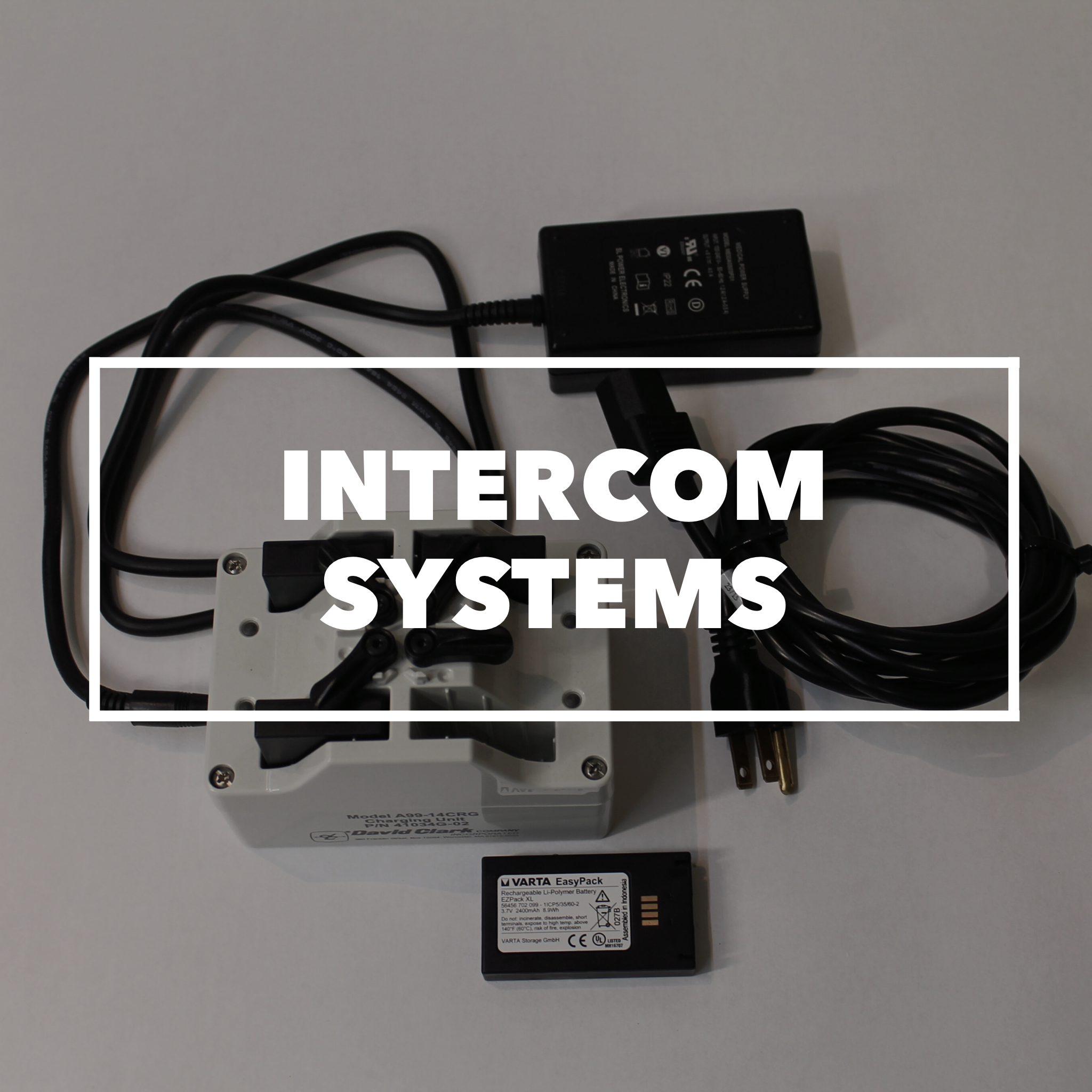 David Clark Wireless Intercom Systems