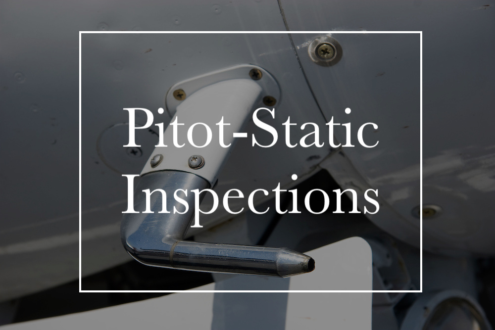 We can service your pitot-static system and help you with the required 24-month inspection.  Call us today !