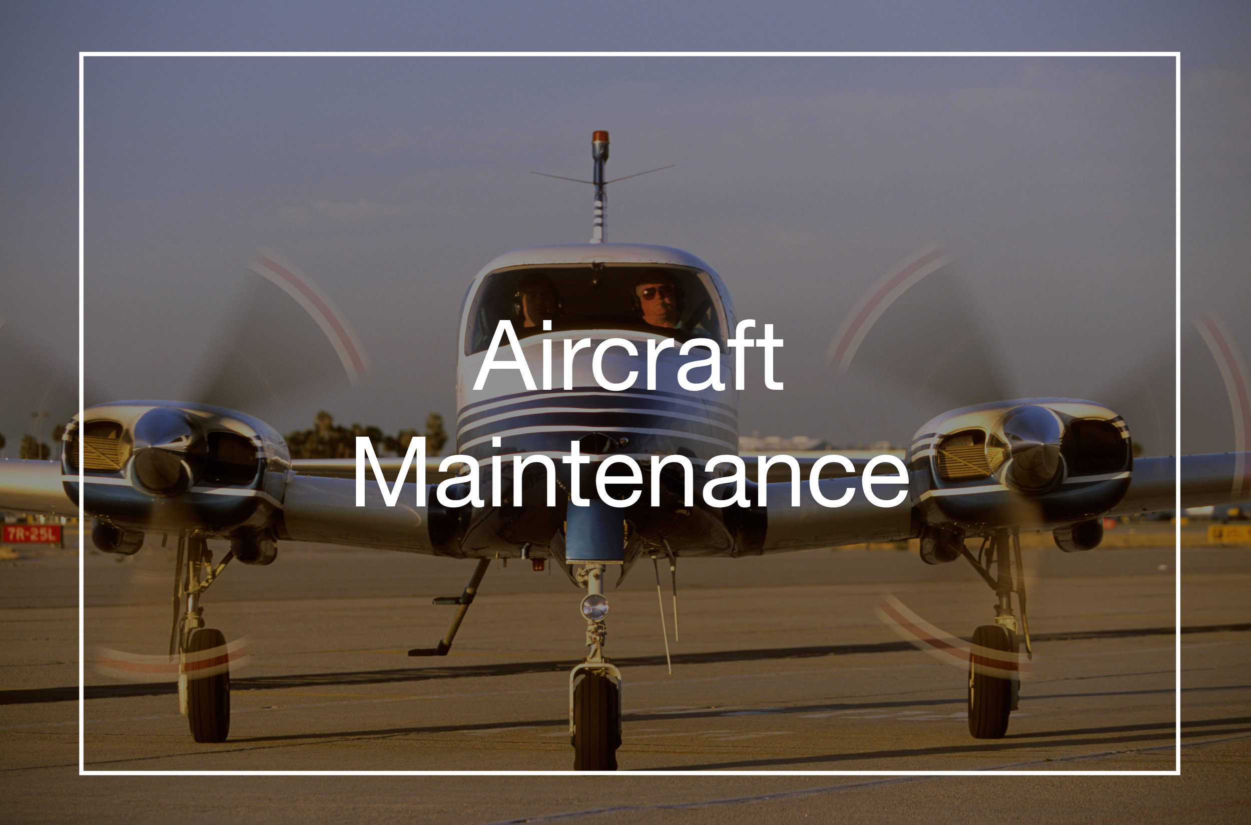 We have over 30 years of aircraft maintenance experience.   Contact us today   for a quote or to schedule a visit!