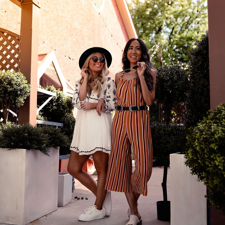 Philadelphia Fashion Bloggers Erica and Breah