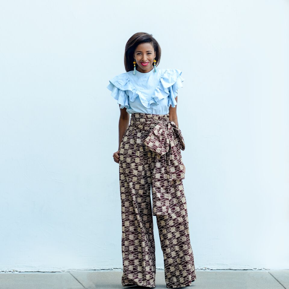 Top  and  pants  by A Leap of Style