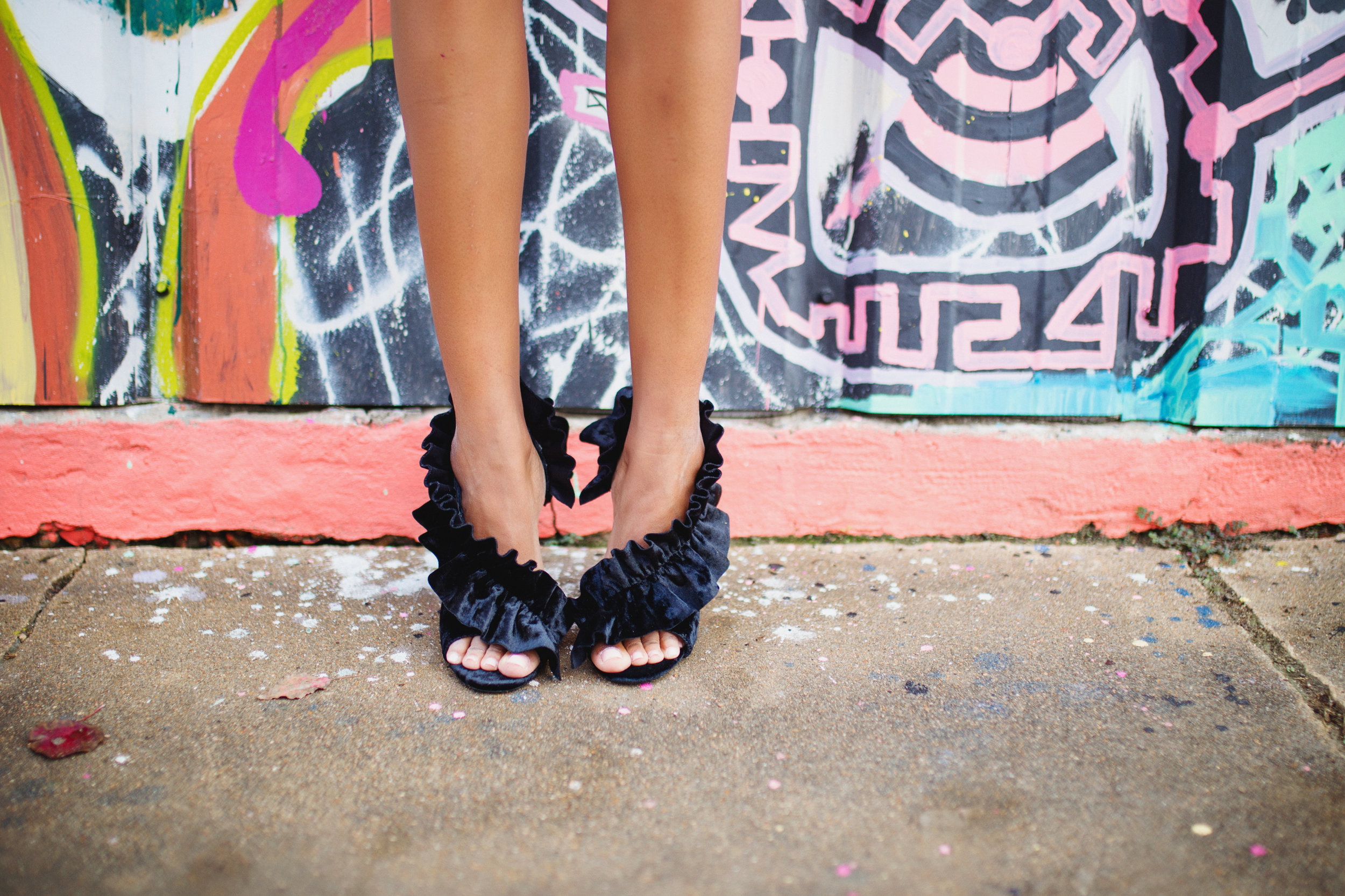 Another show stopping shoe by Cape Robbin! A fun twist to a cool look!