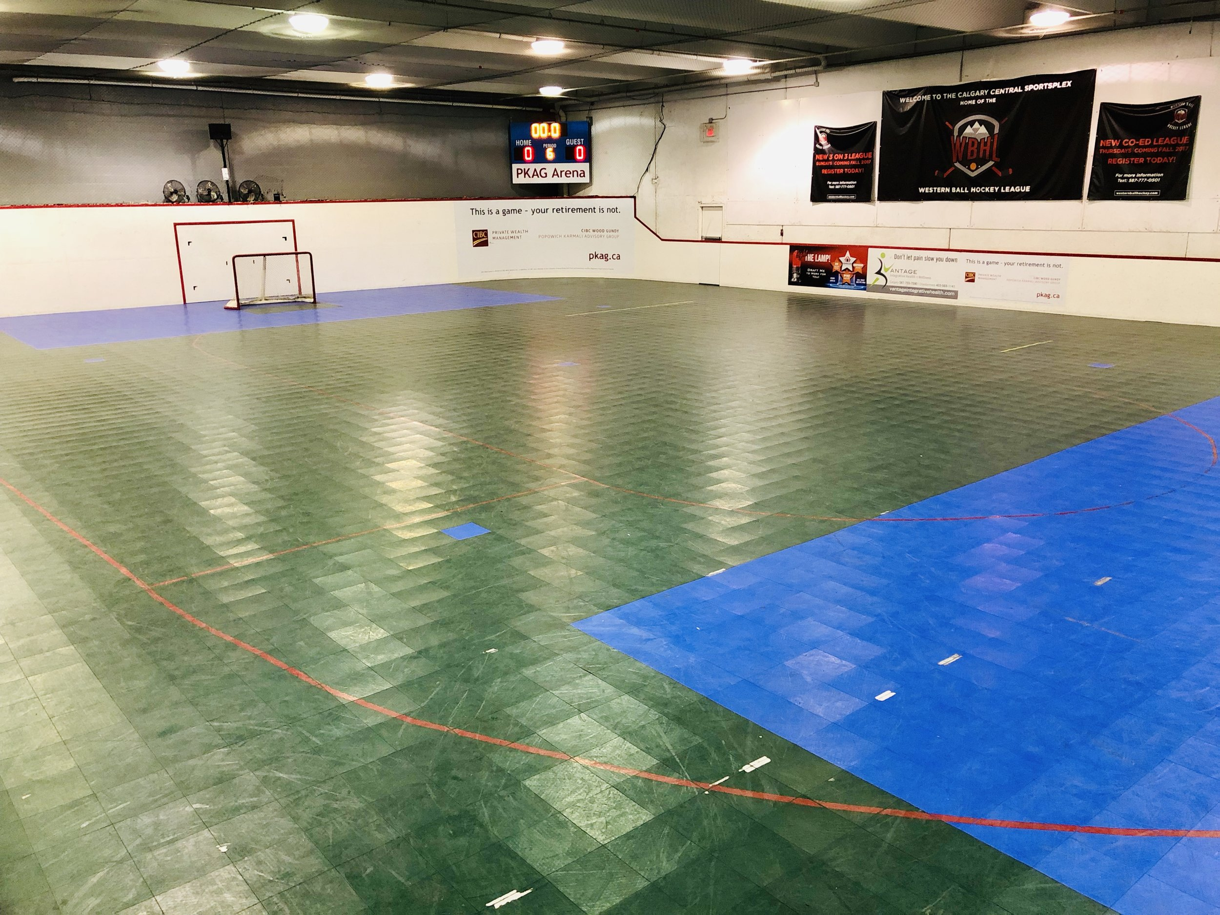 Floor Hockey Rental