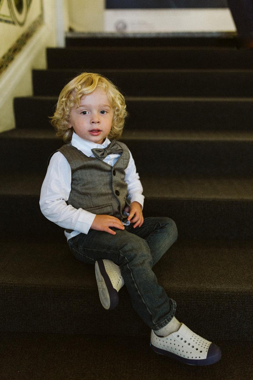 little boy   Chicago elopement   lisa kathan photography