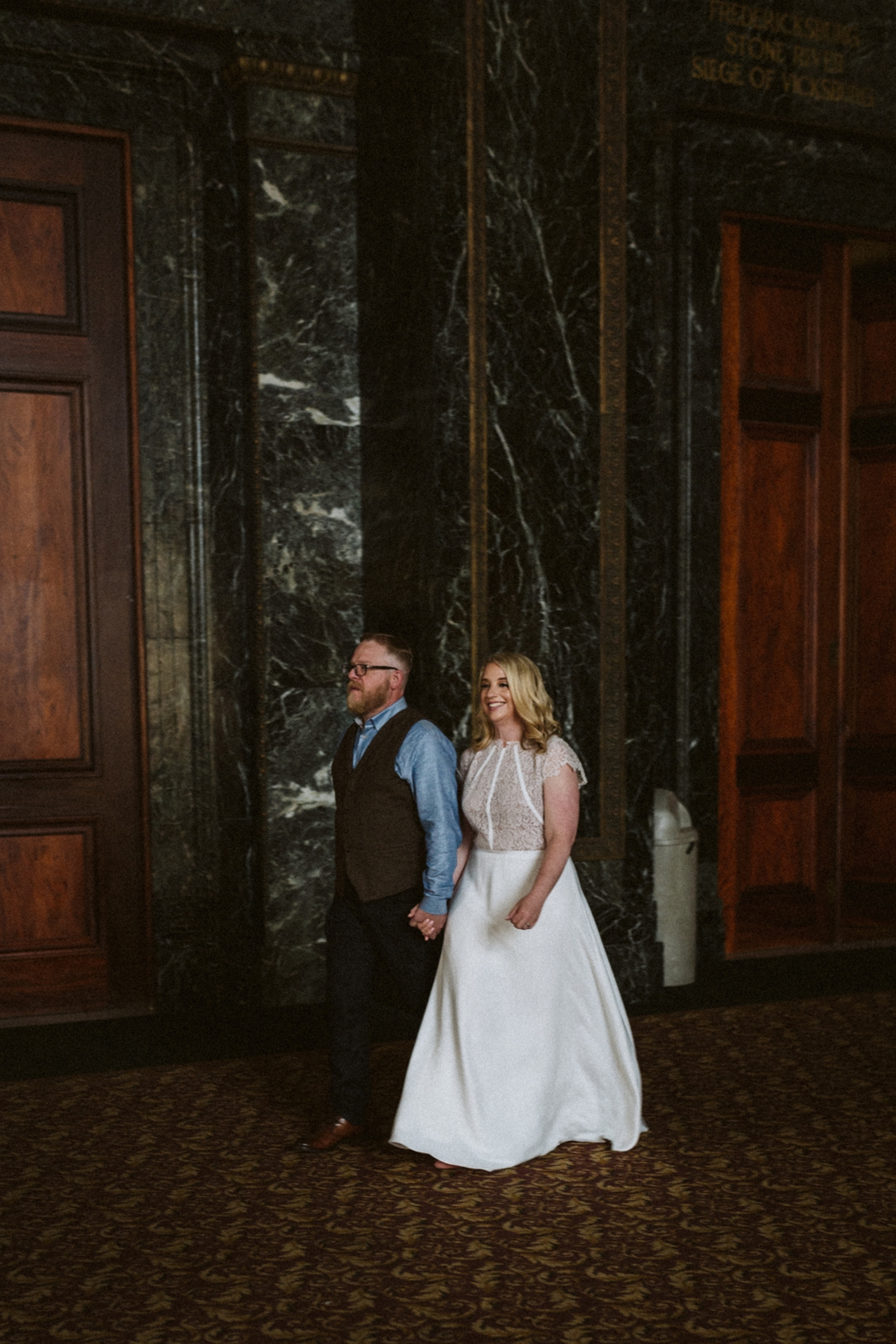 Chicago Cultural Center wedding   Chicago elopements   lisa kathan photography