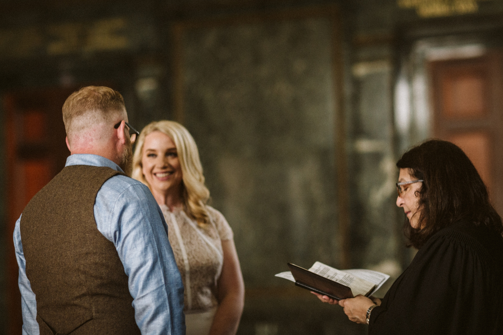Chicago Cultural Center weddings   Chicago elopements   lisa kathan photography