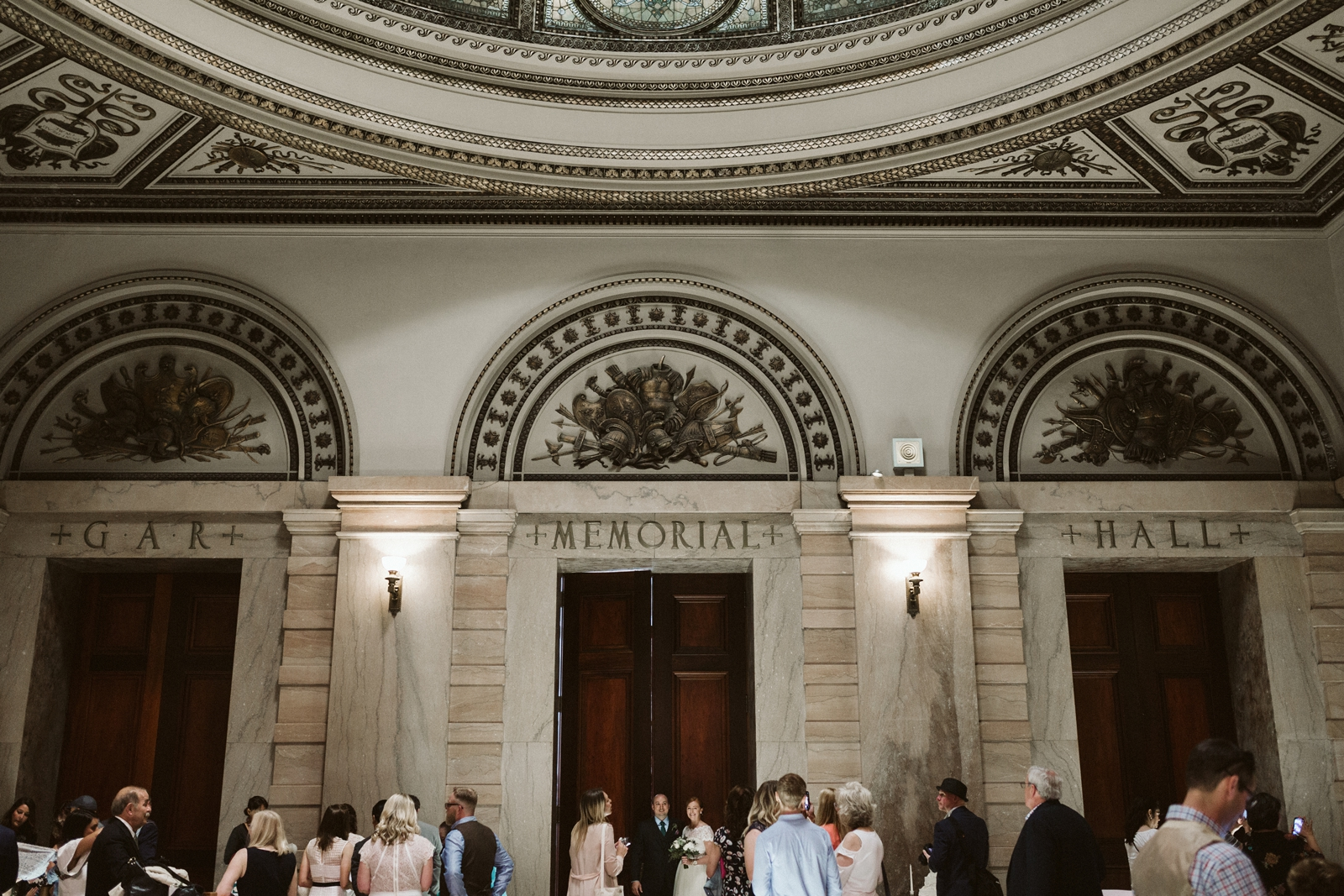 weddings at the Chicago Cultural Center