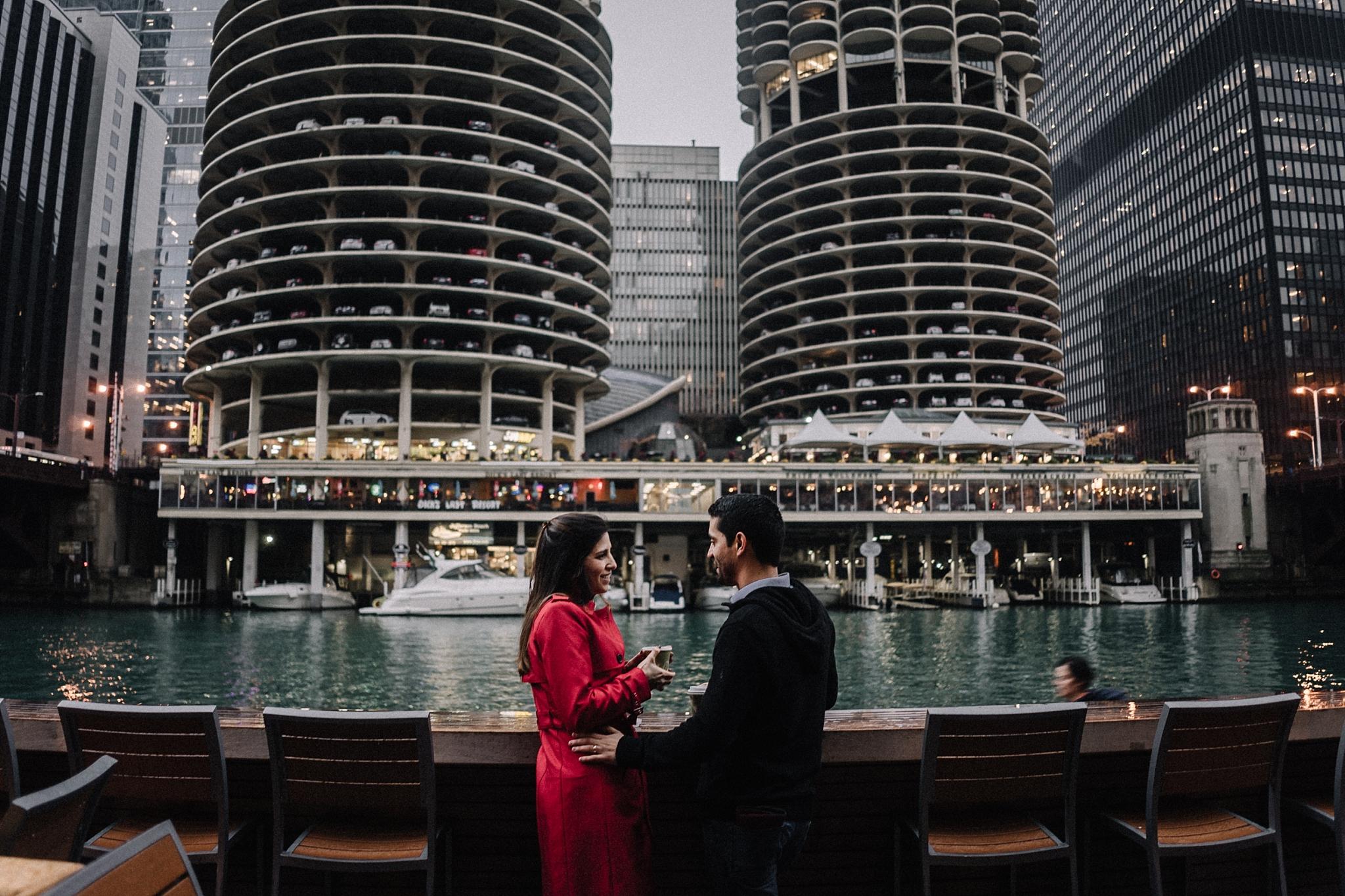 couple on riverwalk