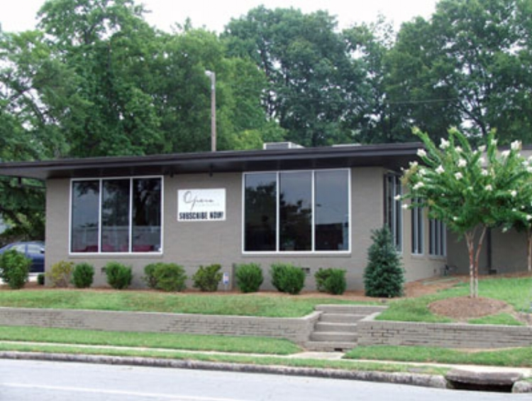 Opera Birmingham's office is located at 3601 Sixth Avenue South, Birmingham, AL 35222