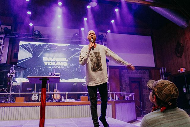 Can we give it up one more time for our friend, Pastor @dyoung10?! 🔥🔥 We're so grateful for everything the Lord has done through this man the last two years at camp! #bsmcamp2019 #noturningback