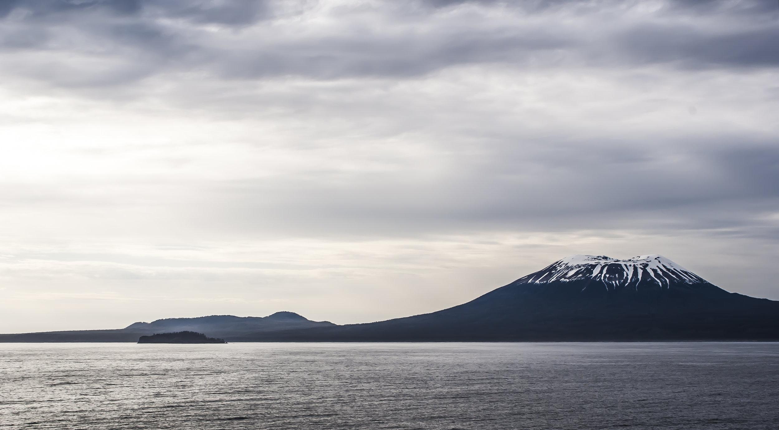 Mount Edgecumbe in Sitka, Alaska