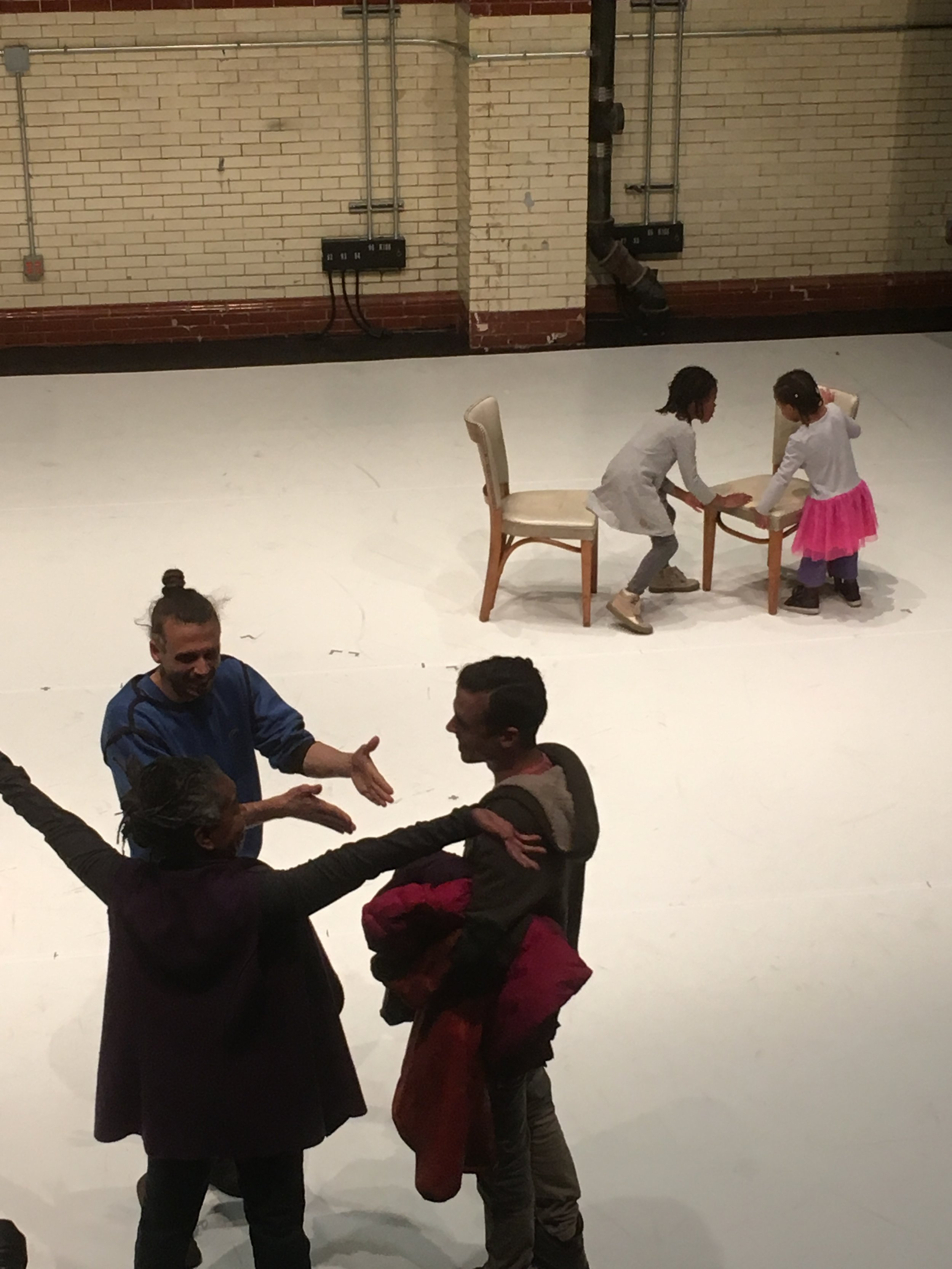 The Making Room Production Residency Showing, Philadelphia, January 2018