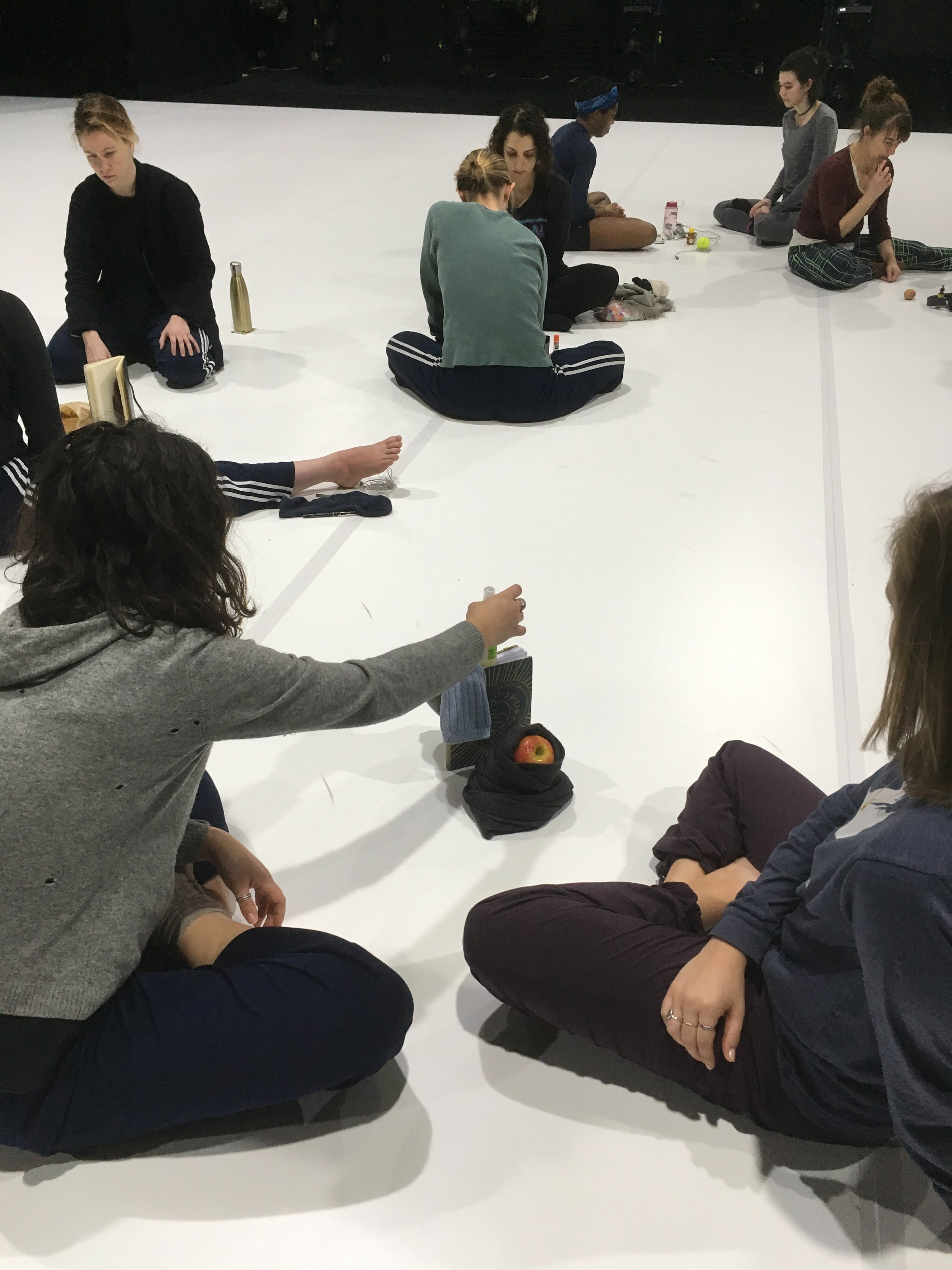 Workshop with Sue & Bebe, New York Live Arts, February 2018