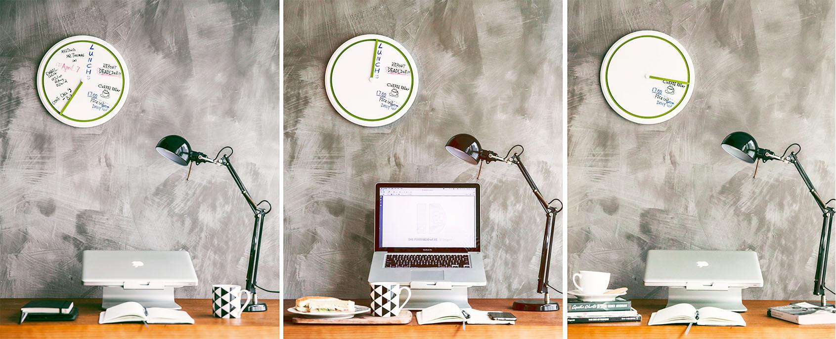 clock design by Jay Qian