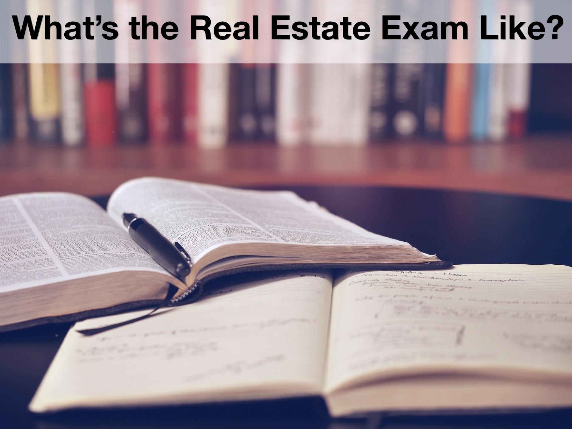 Real estate exam study aid