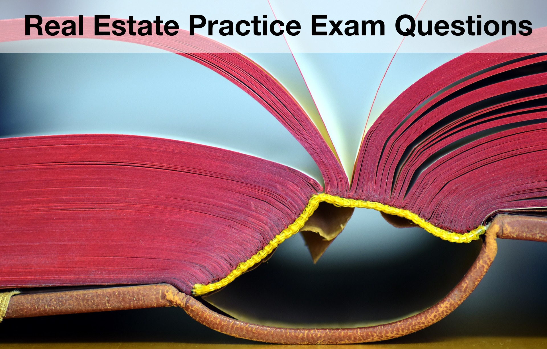 real estate practice exam questions