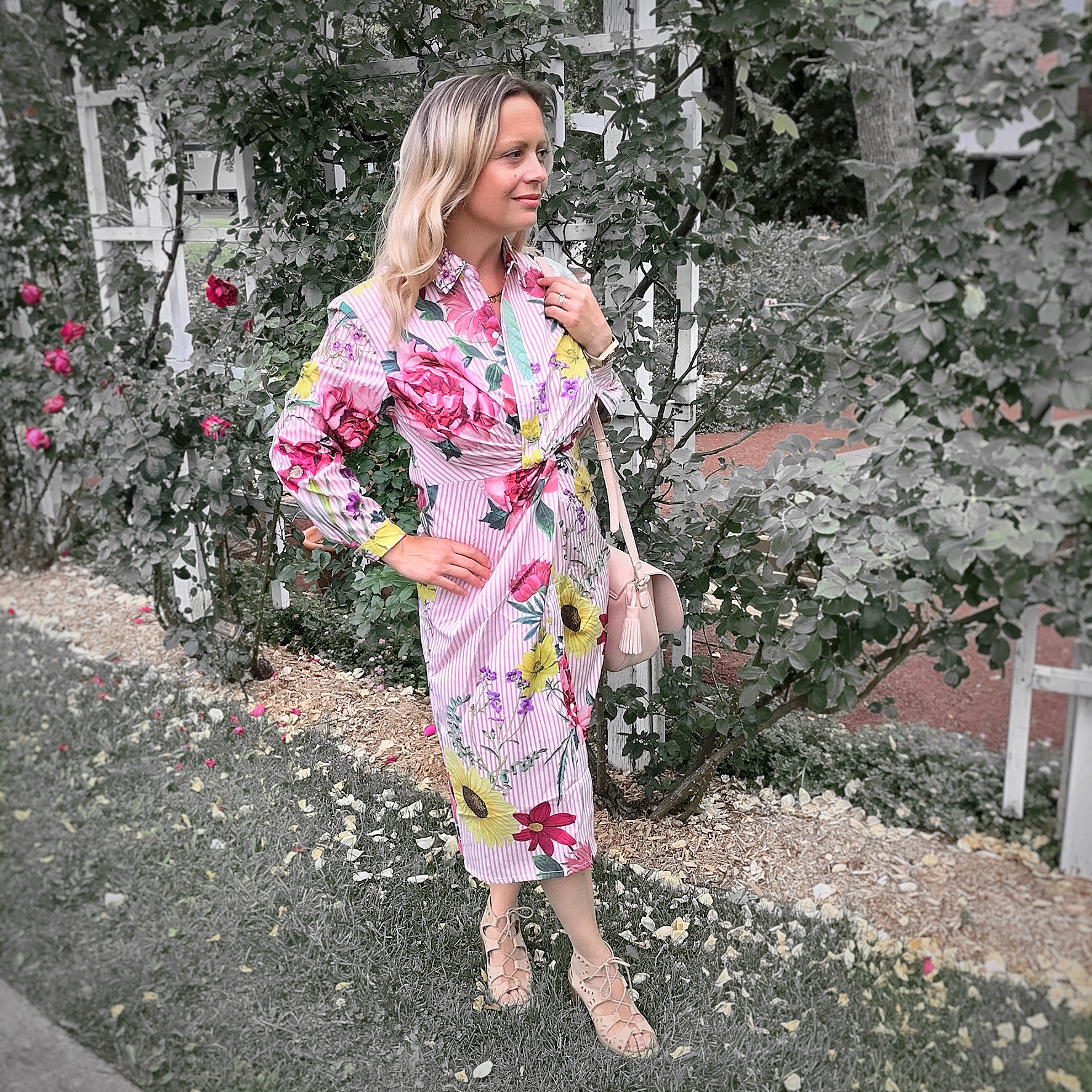 Floral dress - Shein